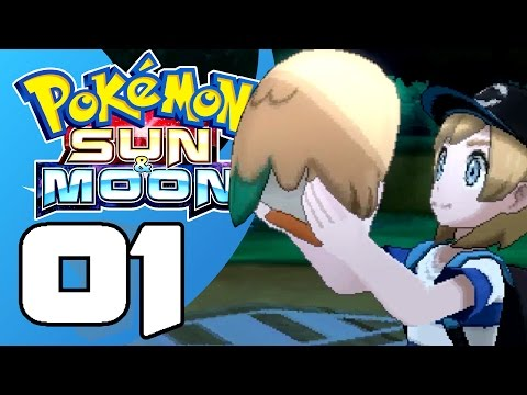 Pokémon Sun and Moon! #1: I Choose You, Rowlett!