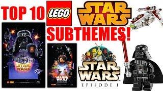 Top 10 LEGO Star Wars SUBTHEMES!