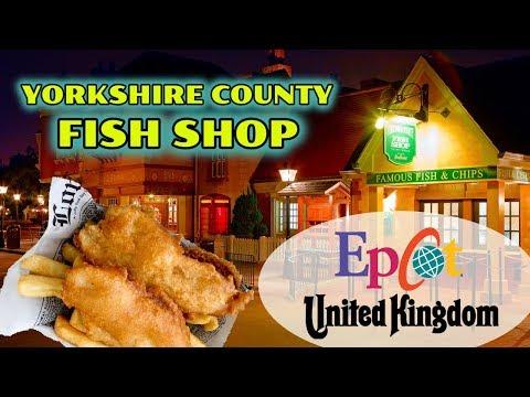 Yorkshire County Fish Shop At Epcot's United Kingdom