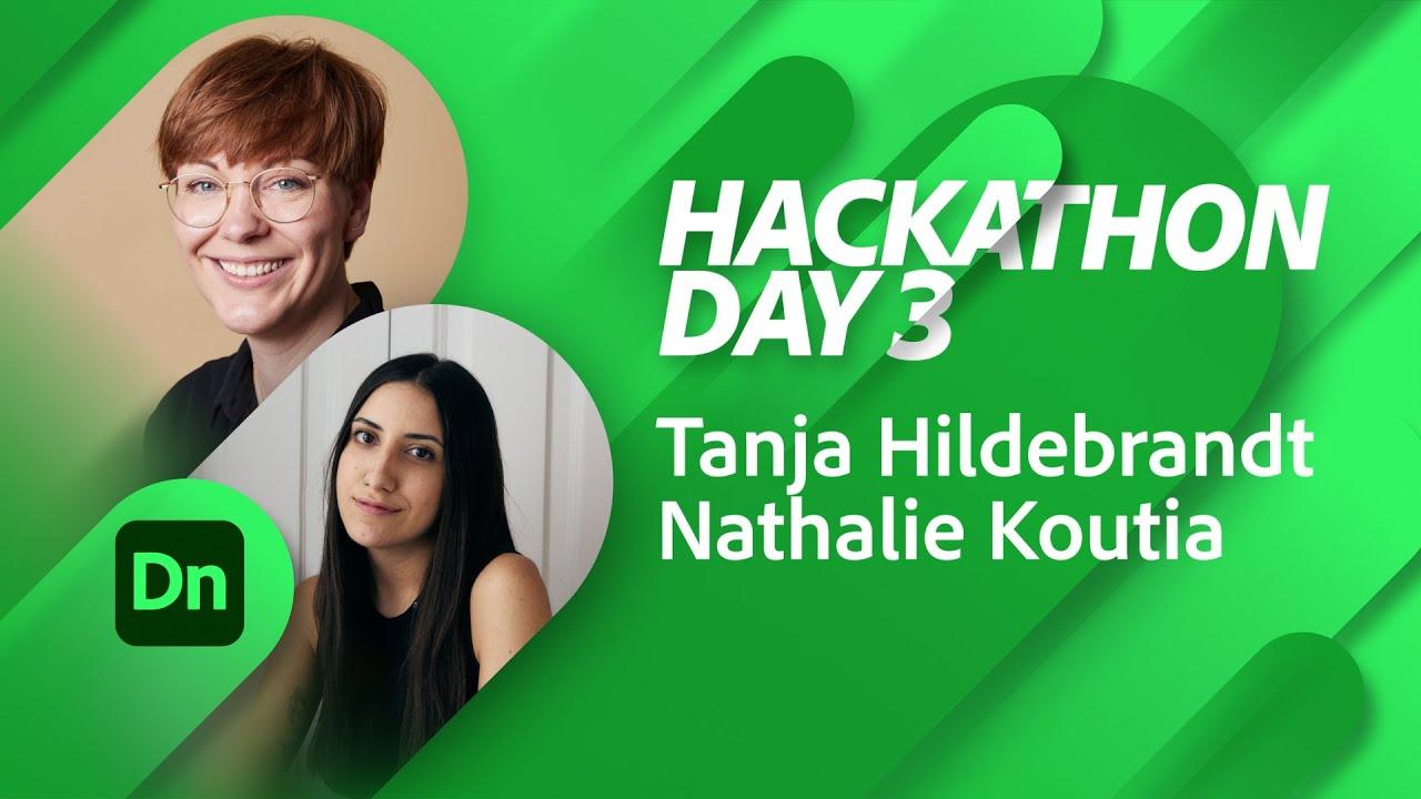 Branding Hackathon with Tanja Hildebrandt and Nathalie Koutia Day 3   Adobe Live