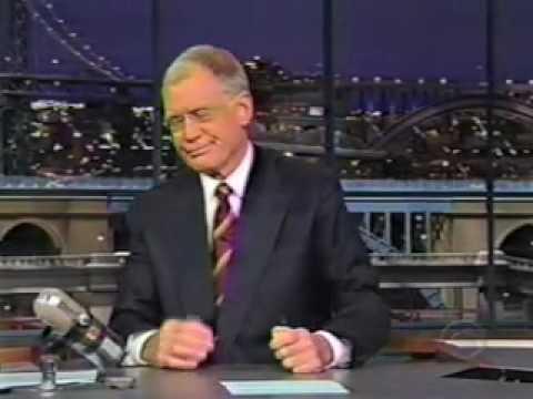 Lettermans Greatest Moments - bear story