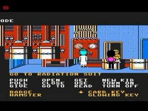 Maniac Mansion (Final Boss) -NES-