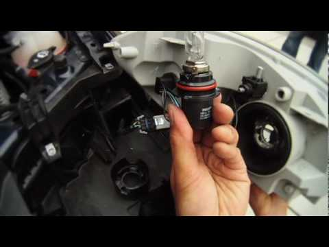 How To Replace A Headlight Bulb - YouTube