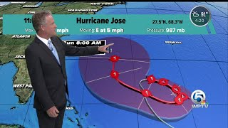 Hurricane Jose does not appear to be a threat to Florida