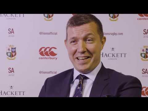 Lions MD Ben Calveley talks why Warren was the man!   South Africa 2021
