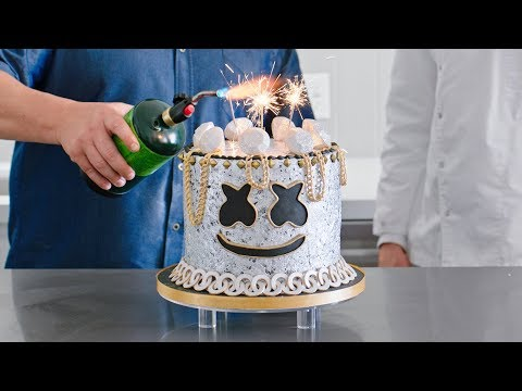 Cover Lagu Yummy Light It Up Party Cake Decorating Tutorial with Chef Duff Goldman | Cooking with Marshmello stafamp3