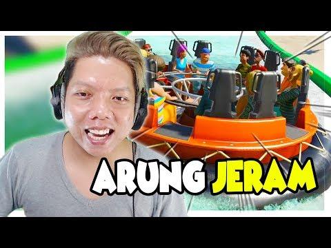 BASAH-BASAHAN Di ARUNG JERAM 😍 Planet Coaster Indonesia #3
