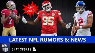 NFL Rumors & News: Chris Jones Trade? NFL Season Delay? Colin Kaepernick? + Aldrick Rosas Arrested