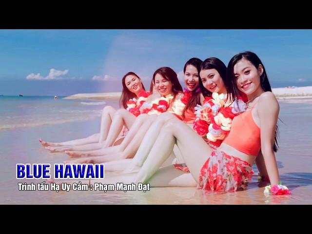 BLUE HAWAII   (Trình tấu Hạ Uy Cầm Ph.m.Đạt)