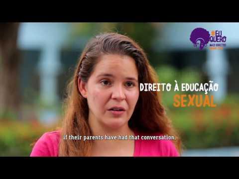 Adolescentes querem Mais Direitos, Menos Zika - Com Legendas em Inglês