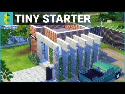 TINY HOUSE Conversion | The Sims 4 House Building