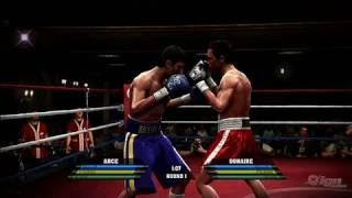 Fight Night Round 4 Xbox 360 Gameplay - Jorge Arce vs