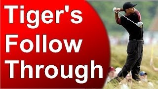 Tiger Analysis: 2 Checkpoints for Your Follow Through