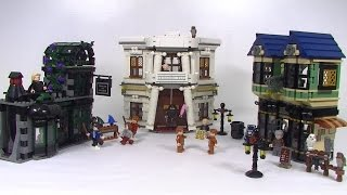 Lego Harry Potter Diagon Alley 10217 Review - WOW what set!