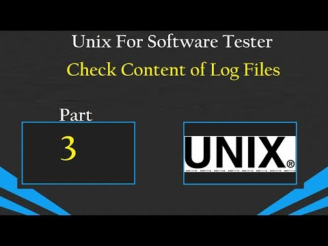 Unix : For Software Testers- Day 3: Check Log Files
