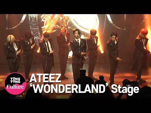 ATEEZ(에이티즈) 'WONDERLAND' Showcase Stage 쇼케이스 무대 (홍중,성화,윤호,여상,산,민기,우영,종호) [통통TV]