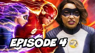 The Flash Season 5 Episode 4 and Crossover Teaser Easter Eggs