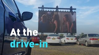 Drive-in theaters thrive during pandemic