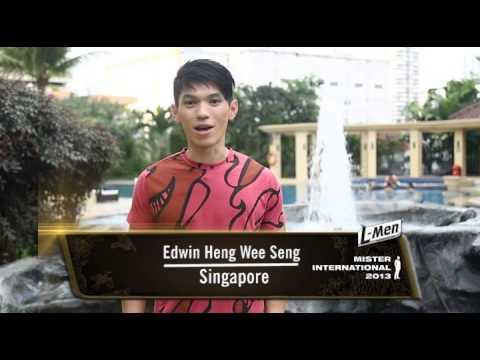 Video Profile Mister Singapore For Mister International 2013
