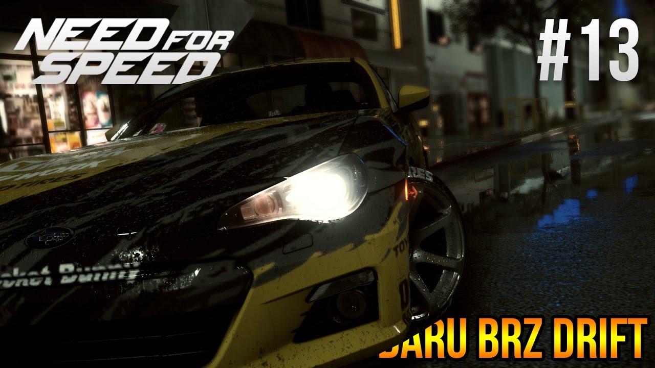 Need For Speed 2015    Subaru BRZ Drift Build - YouTube
