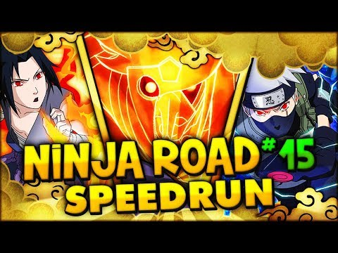 Ninja Road 15 Speedrun 5:37 (NO KAGUYA)   Naruto Shippuden: Ultimate Ninja Blazing