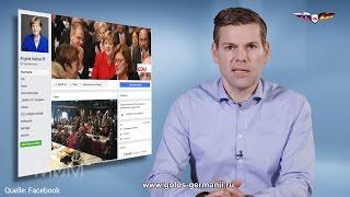 Только 27 процентов лайков  у Меркель в Facebook из Германии [Голос Германии]