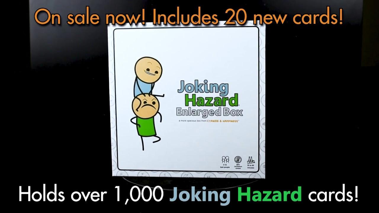 Announcement Joking Hazard Enlarged Box Vloggest