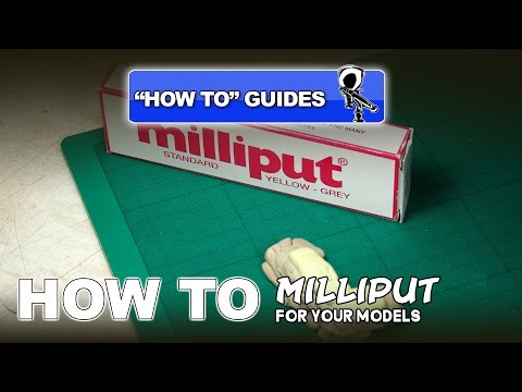 HOW TO USE MILLIPUT PUTTY