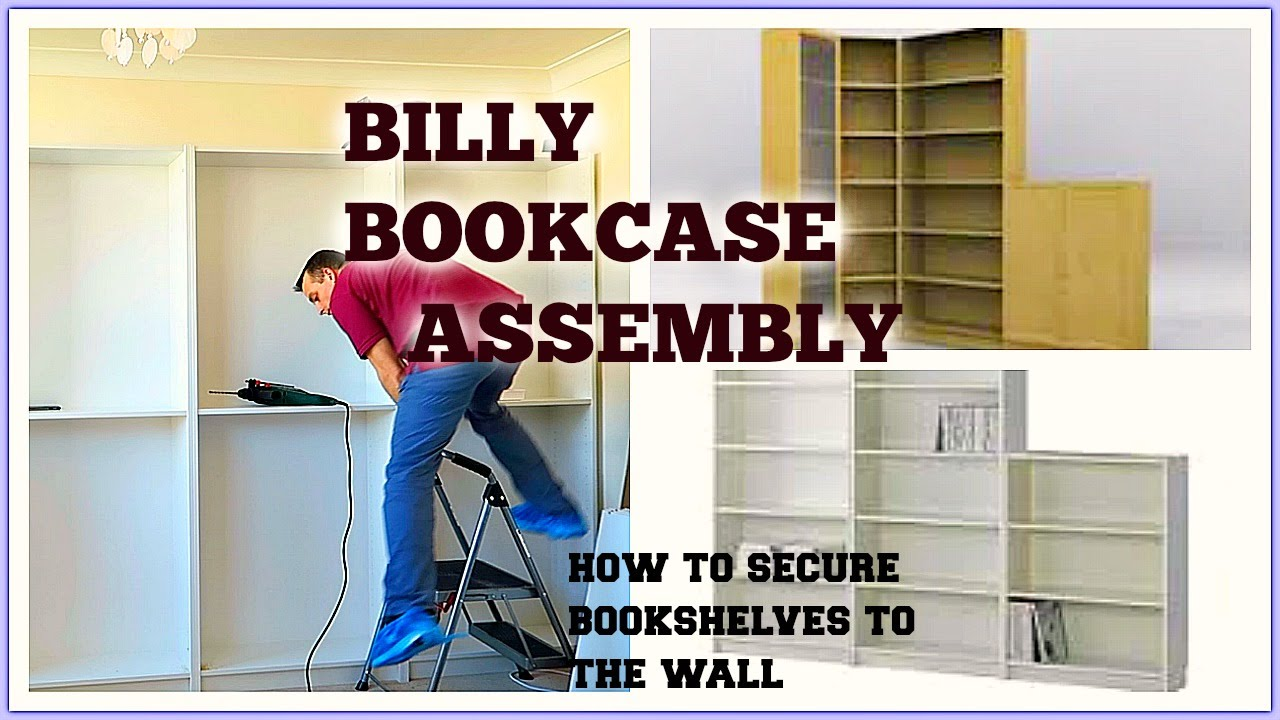 Ikea Billy Bookcase Assembly Youtube