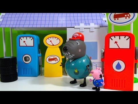 Peppa Pig Garaje del Abuelo Dog Grandpa Dog Garage - Juguetes de Peppa Pig