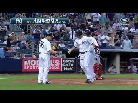 2012/07/28 Nix's two-run homer