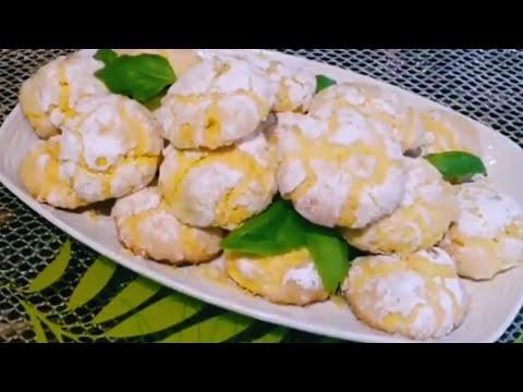 thème-citron-🍋-*6-cookies-aux-citron-super-simple-rapide-moelleux-🤩-super-moist-lemon-cookies-🤩.