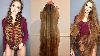 Gerçek Hayattaki Rapunzeller  Instagram39;ın Aşırı Uzun Saçlı Kızları