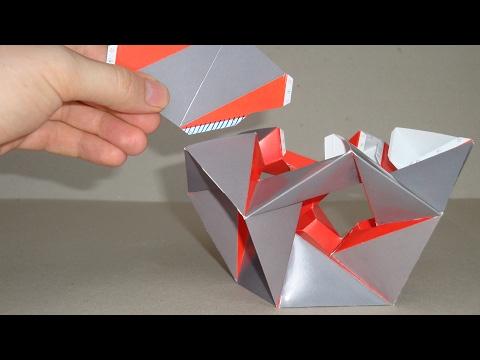 Сборка многогранника 14-я зв.форма икосаэдра, construction of 14-th stellation of icosahedron