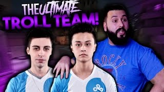 Ultimate Troll Team ft Shroud Stewie2k