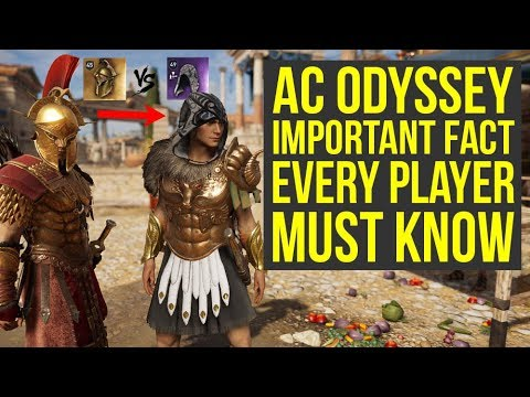 Assassins Creed Odyssey Best Armor  IMPORTANT FACT Everyone Must Know AC Odyssey Best Armor