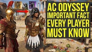 Assassin's Creed Odyssée Meilleure Armure IMPORTANT FAIT, tout le monde Doit Connaître (AC Odyssée du Meilleur de l'Armure)