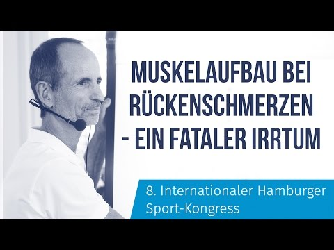 Rückenschmerzen 🚫 Roland Liebscher-Bracht beim 8.Internationalen Sport-Kongress in Hamburg