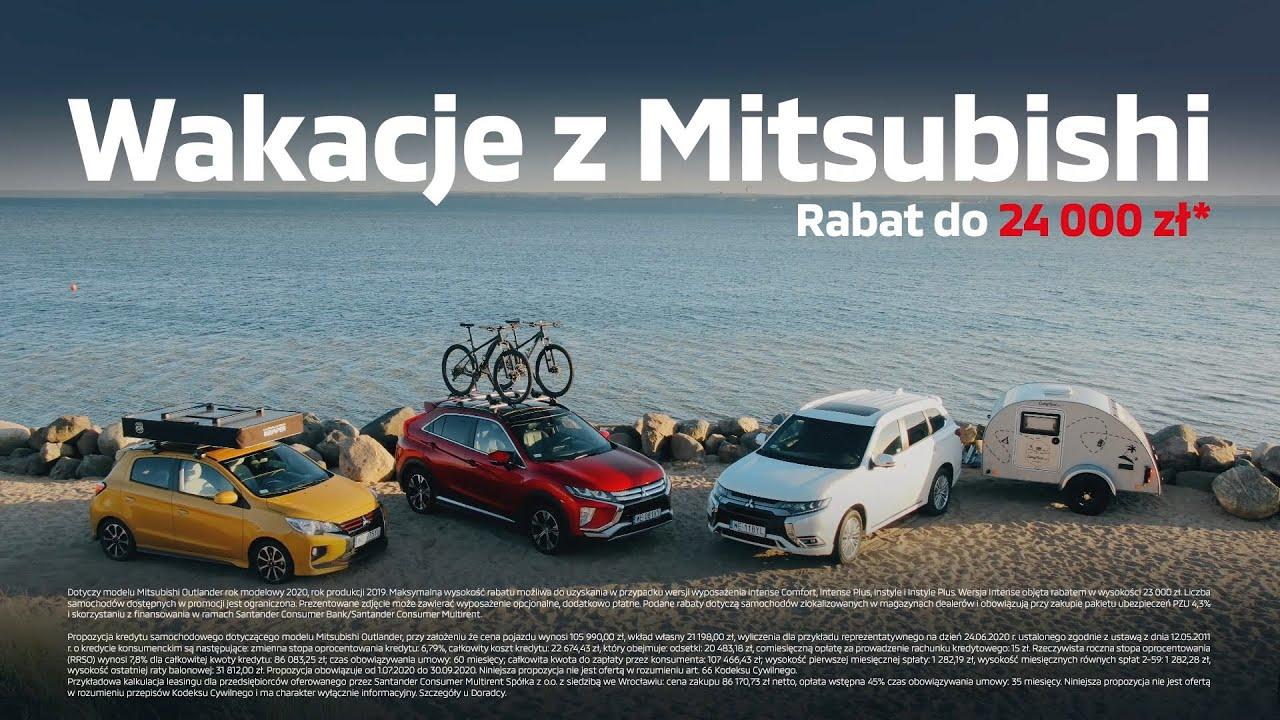 Wakacje z Mitsubishi - rabat do 24 000 zł*