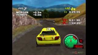 Car and Driver Presents Grand Tour Racing 98  - Gameplay PSX / PS1 / PS One / HD 720P (Epsxe)