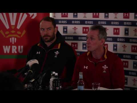 Rob Howley discusses Dan Biggar and George North's fitness