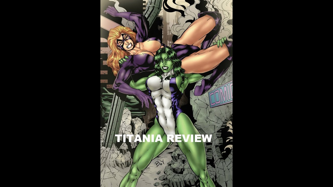 marvel future fight titania review youtube
