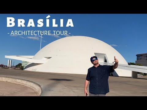 WELCOME To BRASÍLIA - BRAZIL ARCHITECTURE TOUR - 2019 Vlog