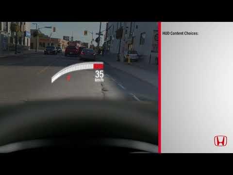 Honda's Head-Up Display (HUD) System
