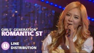 Girls' Generation (소녀시대) - 'Romantic Street (낭만길)' (Line Distribution) Resimi