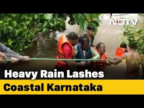 Disaster Response Team Deployed Amid Heavy Rains In Karnataka