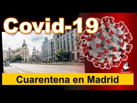 Madrid regresó a la cuarentena ☣ Cifras de la pandemia COVID-19 ☣ Septiembre 21 2020