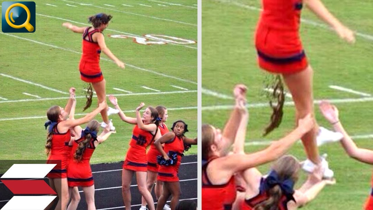 Download 20 EMBARASSING MOMENTS WITH CHEERLEADERS IN SPORTS!