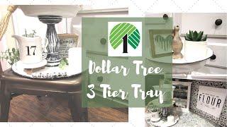 Dollar Tree 3 Tier Tray | Farm…