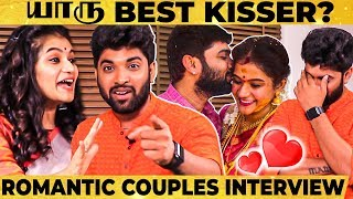 FRIEND to WIFE: Let's Fight Terror, Very Understand – Manas & Subiksha Romantic Interview